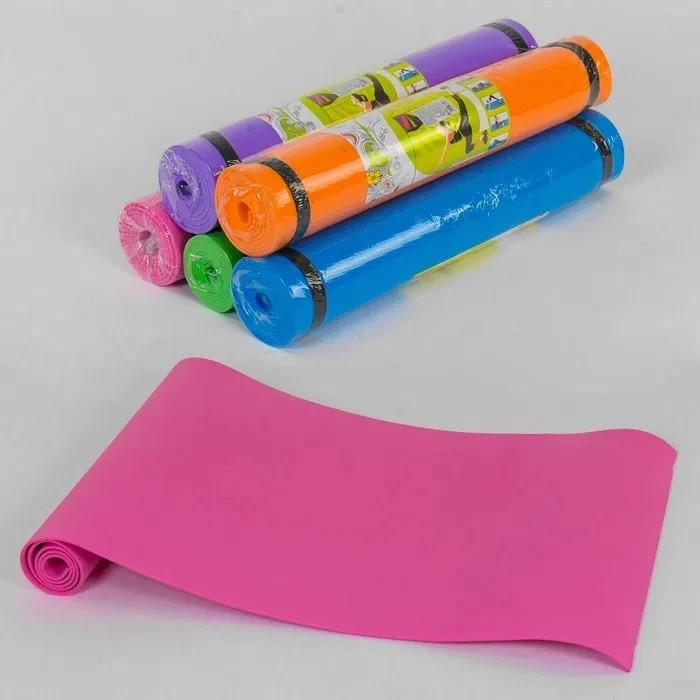 Йогамат коврик для фитнесу для дітей і дорослих 175 х 60 см фото №1
