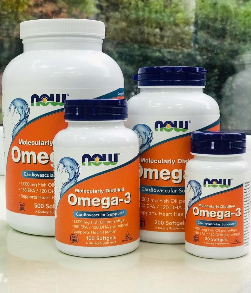 Омега-3,now omega-3 фото №1