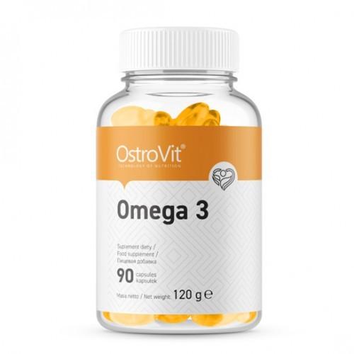 Омега 3 ostrovit omega 3 90 caps фото №1