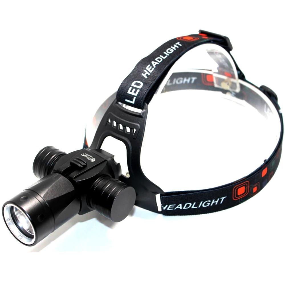 Налобный подводный фонарь police 8755 l2 фото №1