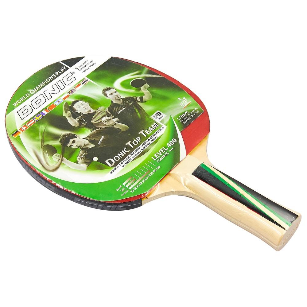 Ракетка для настольного тенниса donic level 400 top team 8384 фото №1