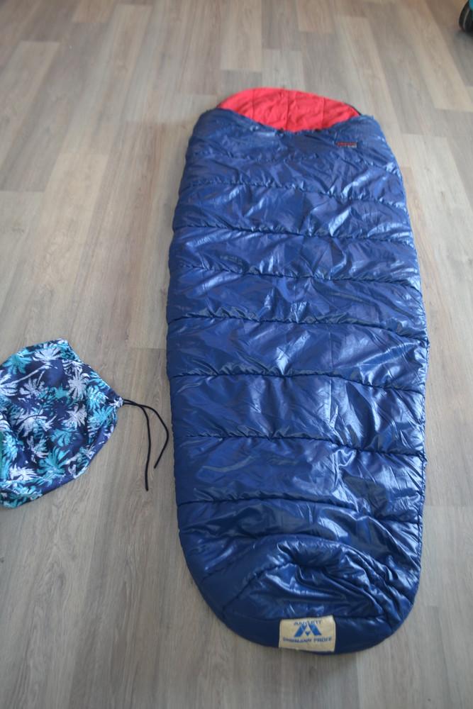 Очень теплый спальник ф. anylett норвегия в новом состоянии фото №1