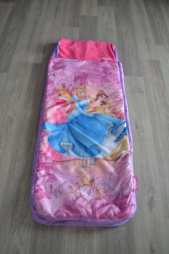Детский спальник принцесы с надувным матрасом внутри в новом состоянии фото №1
