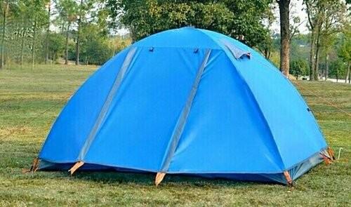 Палатка, шести, 6, местная, двухслойная, туристическая, кемпинговая, трекинговая, с тамбуром, фото №1