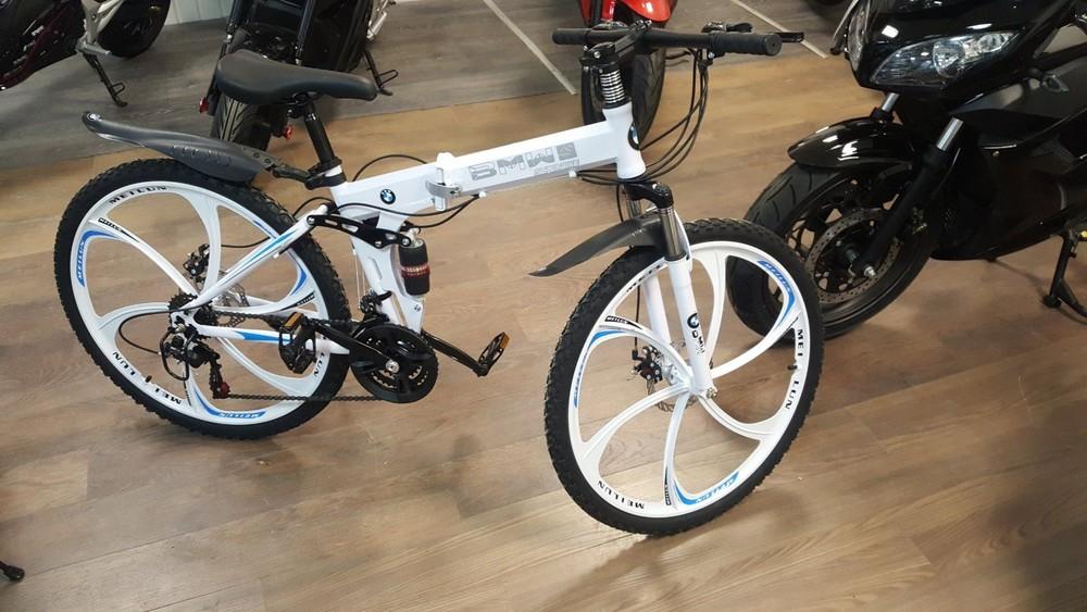 Велосипед на литых дисках фото №1