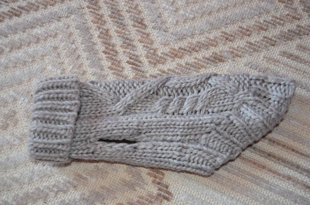 Вязаный свитерок для щенка маленьких пород greerack р.xxs фото №1