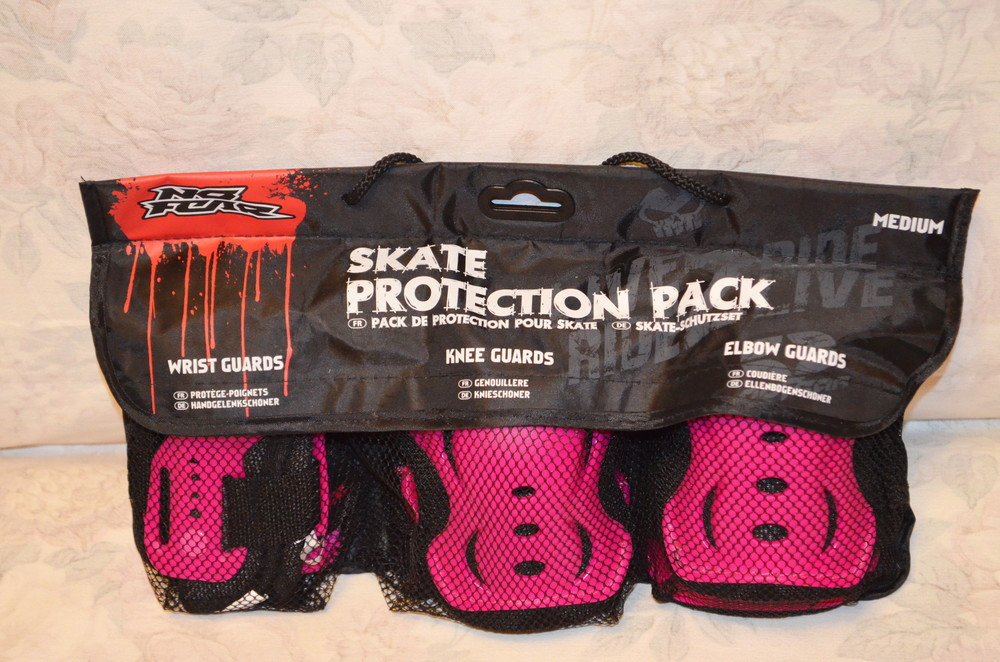 Комплект защиты no fear skate protection фото №1