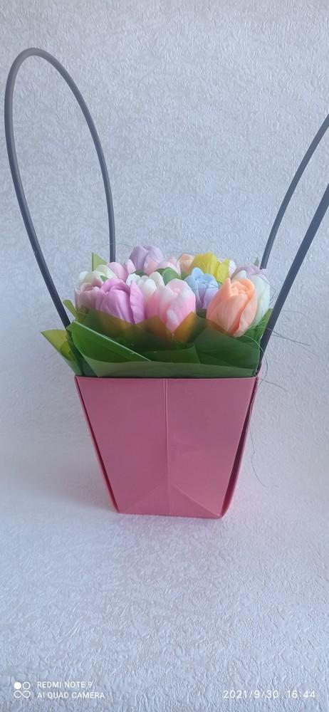 Подарок. букет. цветы из мыла фото №1